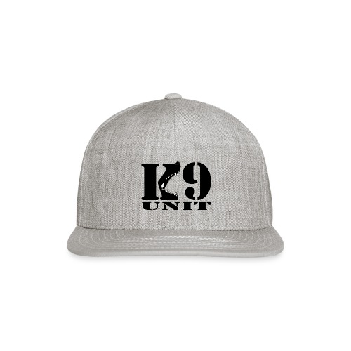 K9 UNIT - Snap-back Baseball Cap