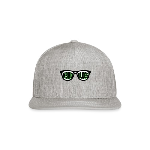 The_Nerd_Vlogs_-_logo - Snap-back Baseball Cap