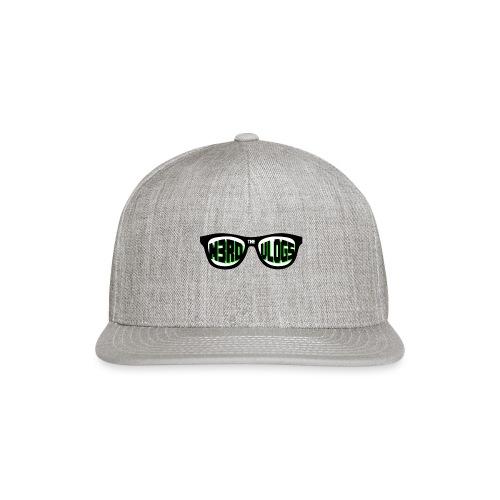 The_Nerd_Vlogs_-_logo - Snapback Baseball Cap