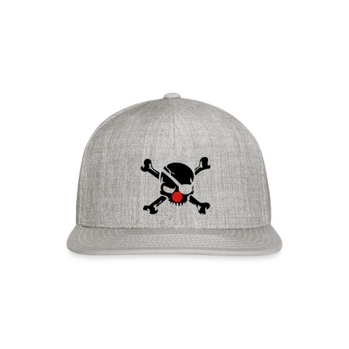 Jolly Roger Clown - Snap-back Baseball Cap