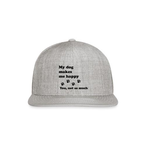 love dog 2 - Snapback Baseball Cap