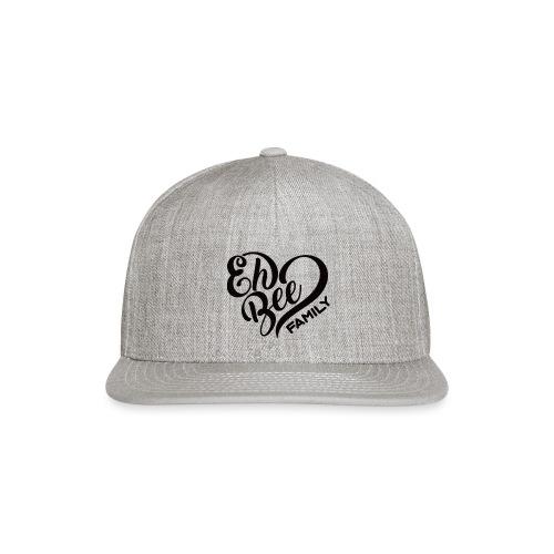 EhBeeBlackLRG - Snap-back Baseball Cap