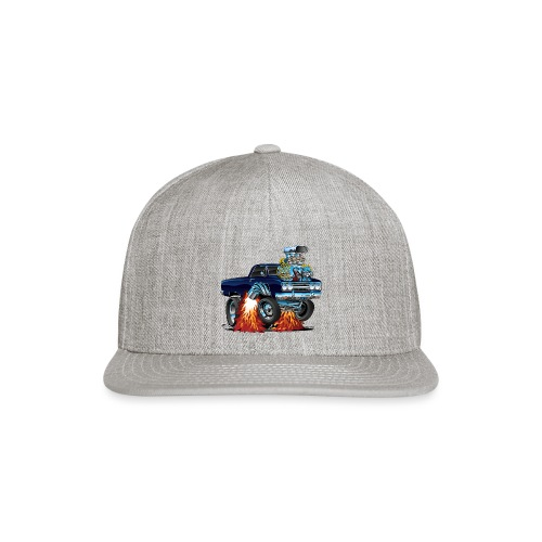 Classic Sixties Muscle Car Cartoon - Snapback Baseball Cap