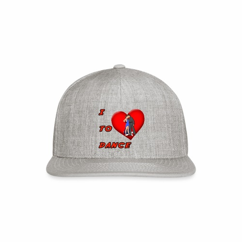 I Heart Dance - Snapback Baseball Cap