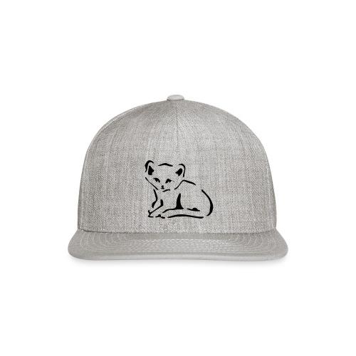 Kitty Cat - Snap-back Baseball Cap