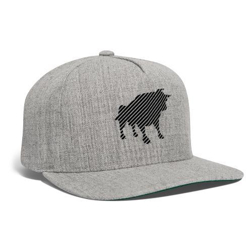 bulgebull_animal - Snapback Baseball Cap