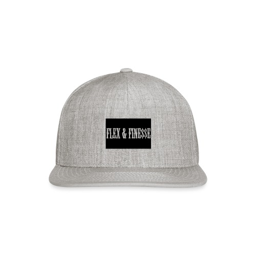Flex & Fine$$e - Snap-back Baseball Cap