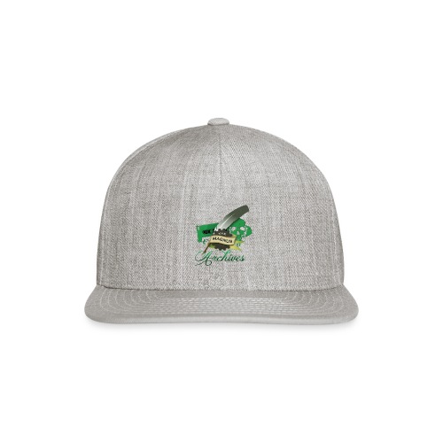 the magnus Logo - Snap-back Baseball Cap