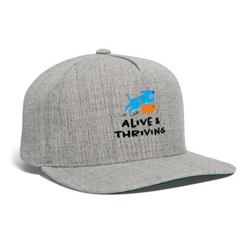 Alive Thriving Animal Behavior Program - Snapback Baseball Cap