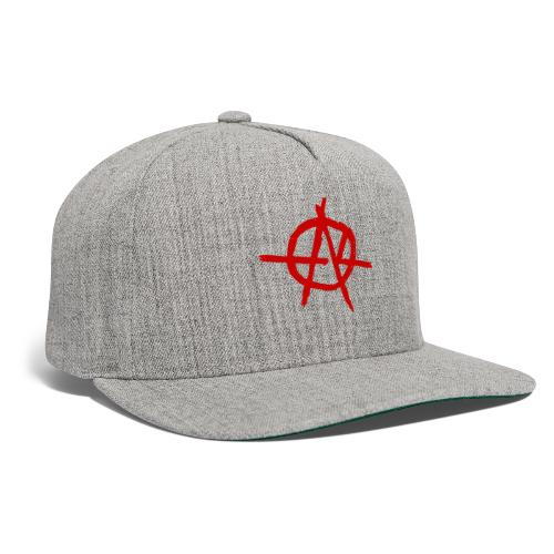 Anarchy (Red) - Snapback Baseball Cap