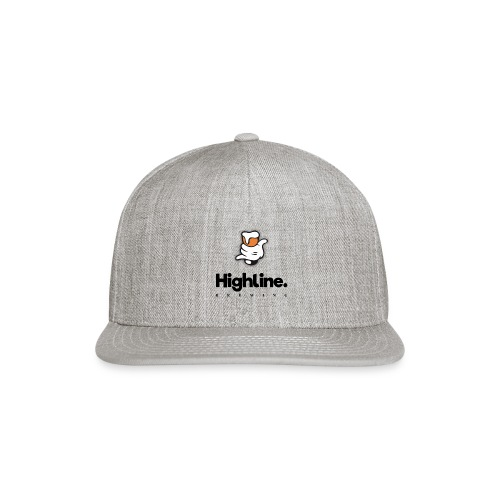 Highline Brewing Logo - Big - Snap-back Baseball Cap