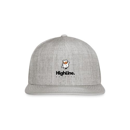 Highline Brewing Logo - Big - Snapback Baseball Cap