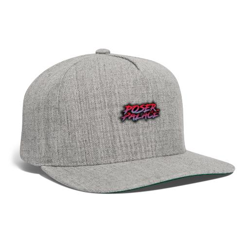 Poser Palace Text - Snapback Baseball Cap