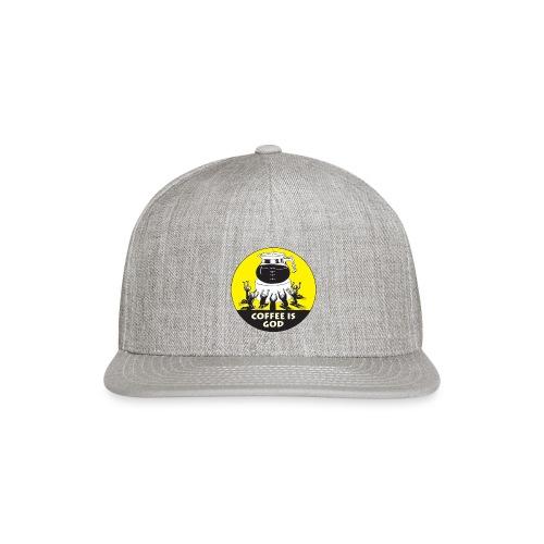 Worship Coffee Time - Snapback Baseball Cap