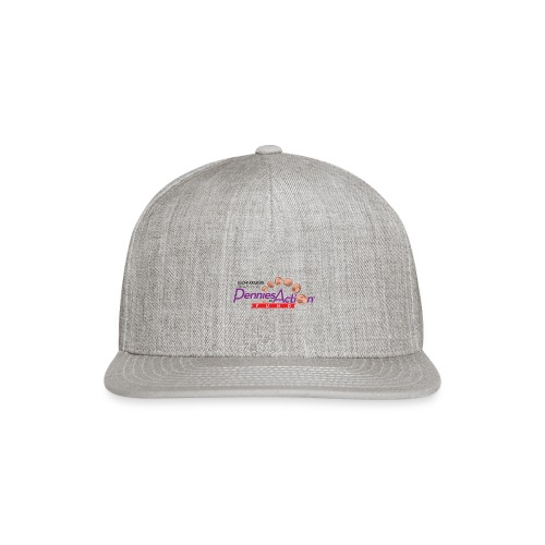Pennies In Action Logo - Snap-back Baseball Cap