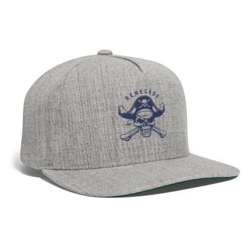 pirate skull renegade - Snapback Baseball Cap