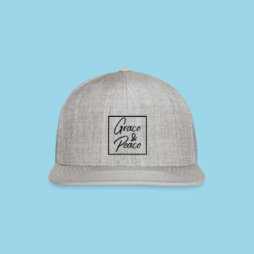 Grace and Peace - Snapback Baseball Cap