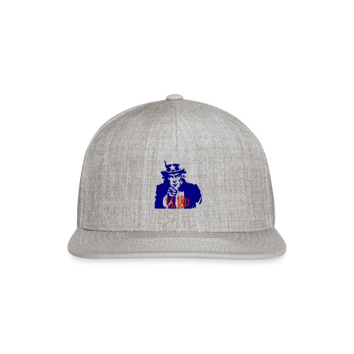uncle-sam-1812 - Snapback Baseball Cap