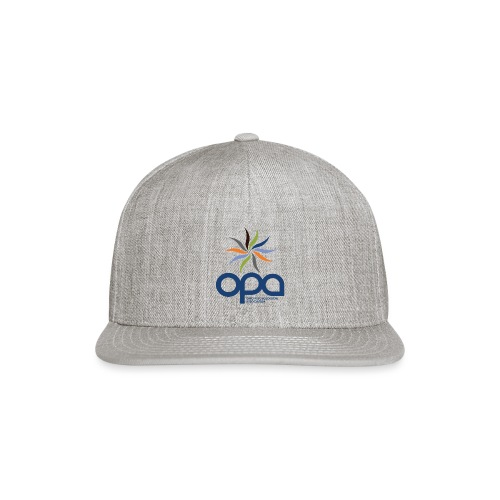 Short-sleeve t-shirt with full color OPA logo - Snap-back Baseball Cap
