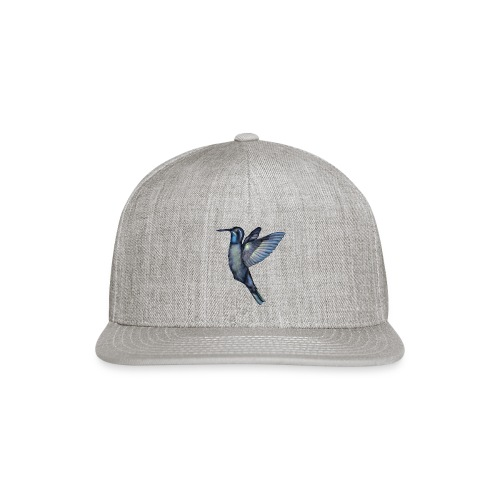 Hummingbird in flight - Snapback Baseball Cap