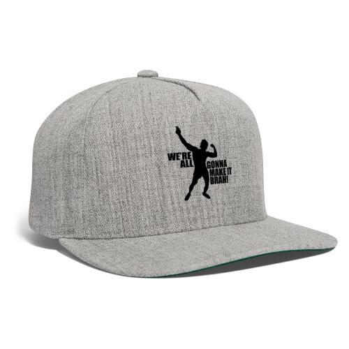 Zyzz Silhouette we're all gonna make it - Snapback Baseball Cap
