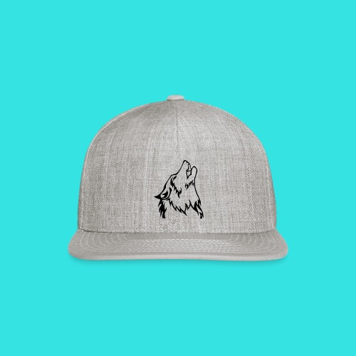 Wolf - Snap-back Baseball Cap