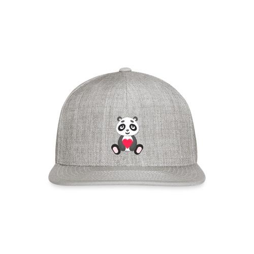 Sweetheart Panda - Snap-back Baseball Cap