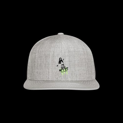 MYSE Clothing - badass babe - Snap-back Baseball Cap