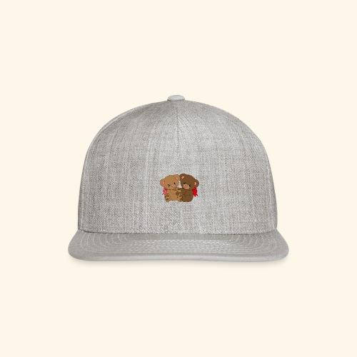 Bears Hugging - Snap-back Baseball Cap