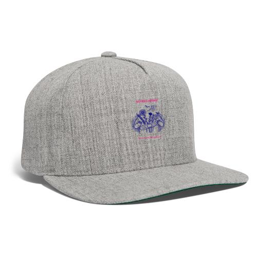 Weathered Sunflowers Grow From The Inside Out - Snapback Baseball Cap