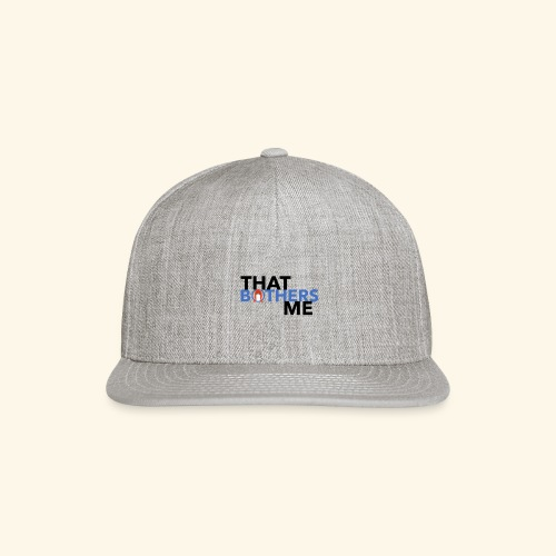 Coco That Bothers Me - Blue - Snap-back Baseball Cap