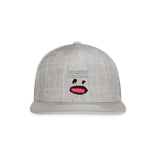 sealofapproval png - Snapback Baseball Cap
