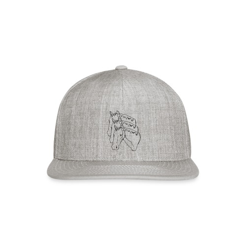 horsey pants - Snap-back Baseball Cap