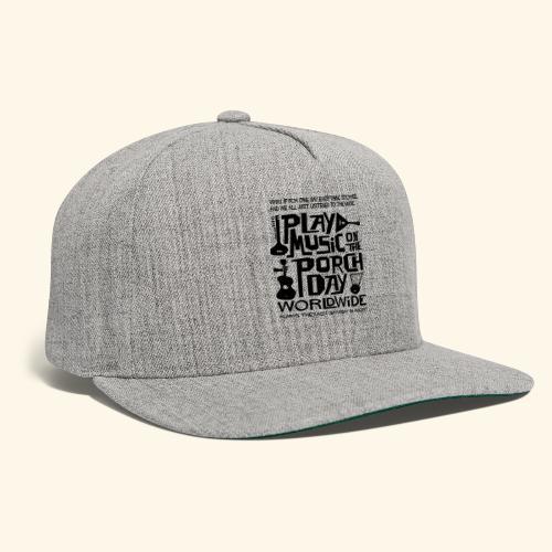 PMOTPD2021 SHIRT - Snapback Baseball Cap