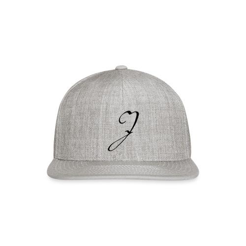 Letter J - Snap-back Baseball Cap