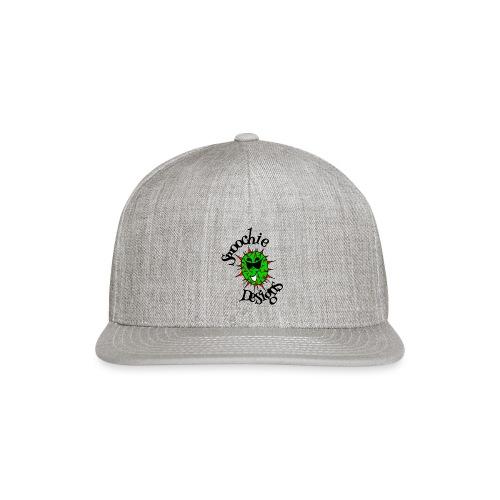 Smoochie Designs logo - Snapback Baseball Cap