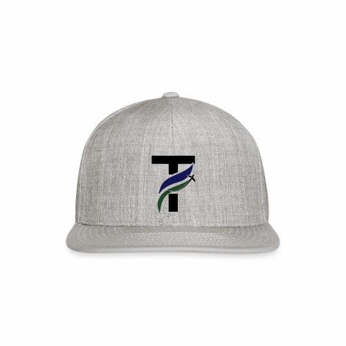 newtakeoff logo - Snap-back Baseball Cap