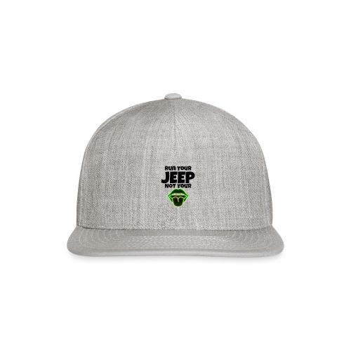 Run Lime - Snap-back Baseball Cap