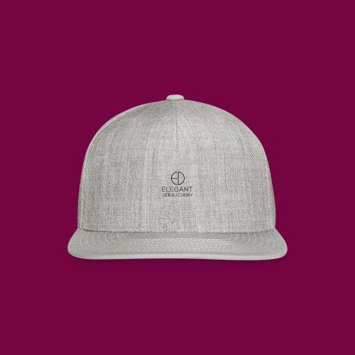 Elegant Debauchery Logo Stacked - Snap-back Baseball Cap