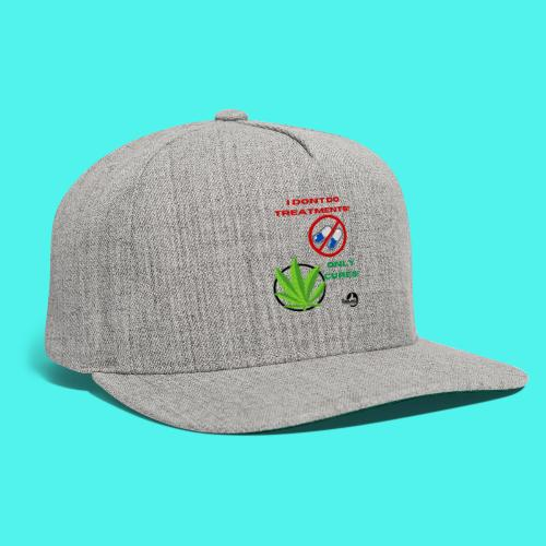 BMG- No treatments..Only Cures! - Snapback Baseball Cap
