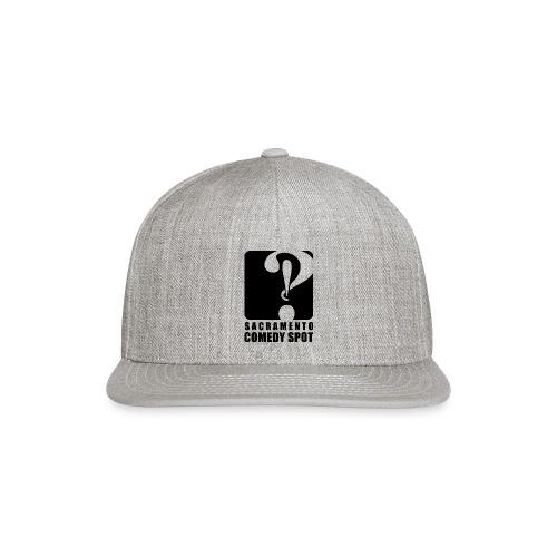 Sacramento Comedy Spot Vertical Logo - Snapback Baseball Cap
