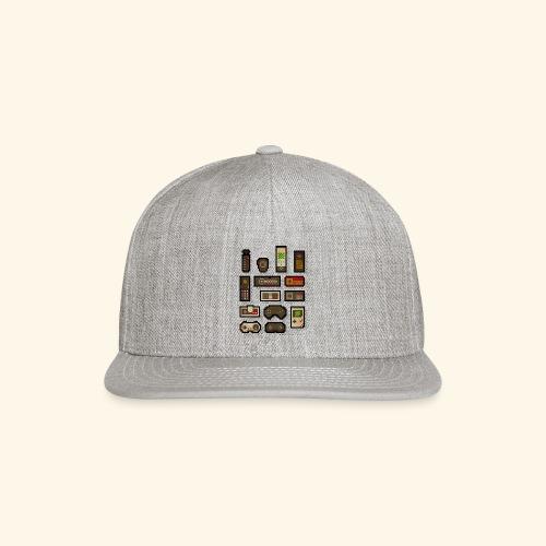pixelcontrol - Snap-back Baseball Cap