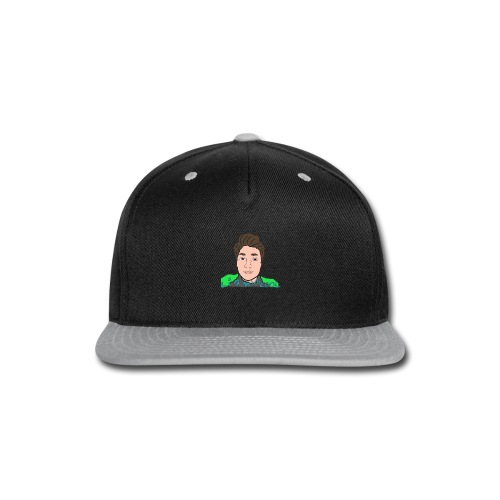 LiamWcool head tee - Snap-back Baseball Cap