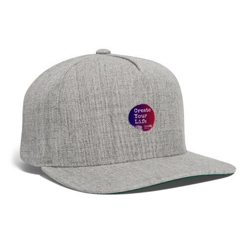 Create Your Life Sticker - Snapback Baseball Cap