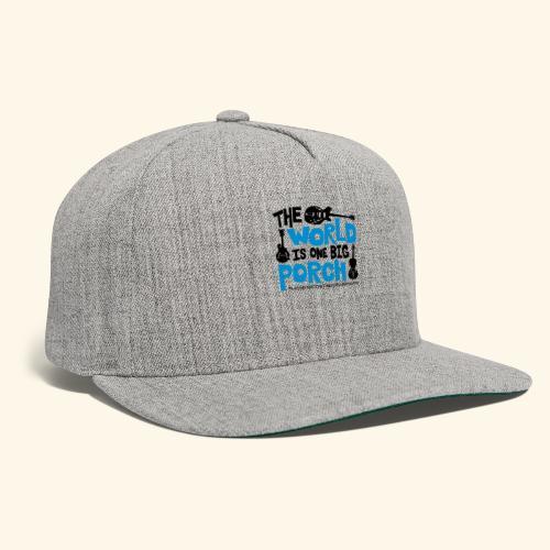 BIG_PORCH - Snapback Baseball Cap