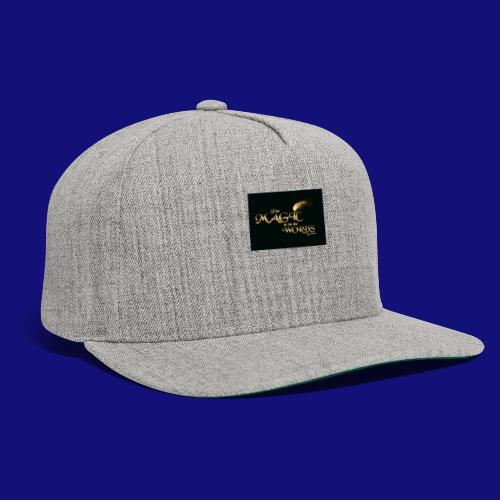 The magic is in the words gold - Snapback Baseball Cap