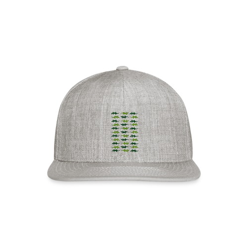 Crocs and gators - Snap-back Baseball Cap