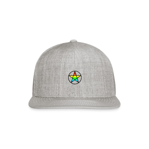 Official Iridescent Tee-Shirt // Men's // White - Snap-back Baseball Cap
