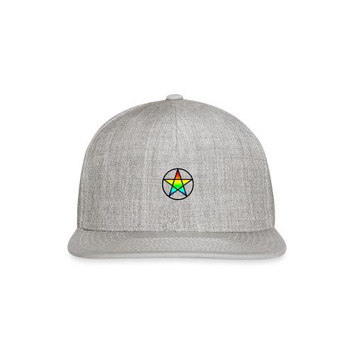 Official Iridescent Tee-Shirt // Men's // White - Snapback Baseball Cap