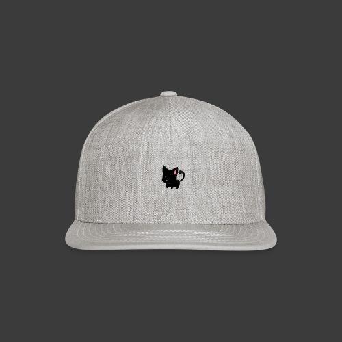 black cat hoodie - Snapback Baseball Cap